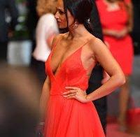 Rita Pereira sem soutien (Cannes 2018)