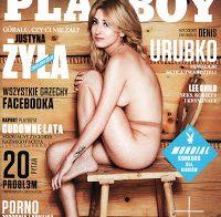 Justyna Zyla na Playboy de junho '18