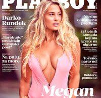 Megan Moore nua na Playboy da Croácia!