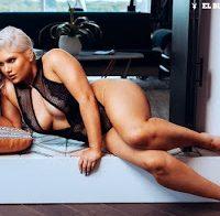Anne Sherlock sensual na Playboy