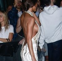 O vestido curtissimo de Chantel Jeffries