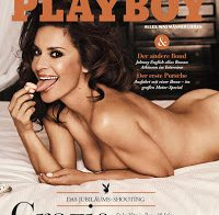 A bela Gitta Saxx nua para a Playboy.