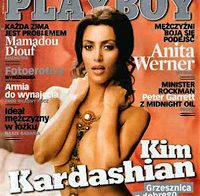 Kim Kardashian nua (Playboy 2008)