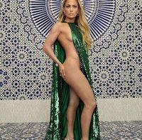 Jennifer Lopez praticamente nua