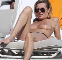 A bela Claire Chazal faz topless