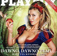 A bela Martyna Kondratowicz nua na Playboy