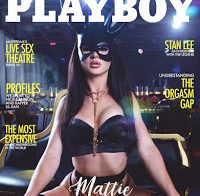 Mattie Spears nua para a Playboy