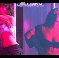 Joana Santos e Isabel Figueira fazem strip no varão