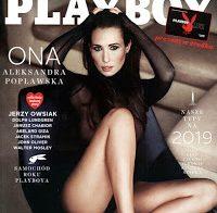 A bela Aleksandra Poplawska nua para a Playboy