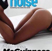 Christine Martin em ensaio sensual na revista Loaded