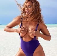 Tyra Banks em biquíni na Sports Illustrated