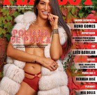 Poliana de Paula nua na Playboy Portugal