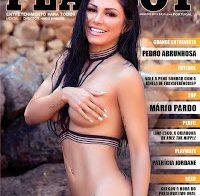 Nathy Kihara nua na Playboy Portugal