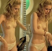 Erin Moriarty topless no filme 'Driven'