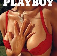 Kylie Jenner semi-nua na Playboy
