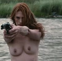 January Jones topless no filme 'Sweetwater'
