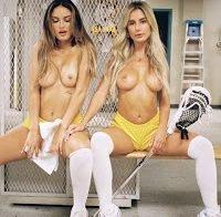 Julia Rose e Bianca Ghezzi topless em ensaio