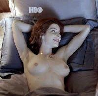 Michelle Batista topless e nua em 'O Negócio'