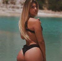 O belo rabo da modelo de Instagram Joana Lulu