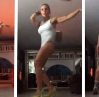 Luciana Abreu partilha dança a abanar o rabo