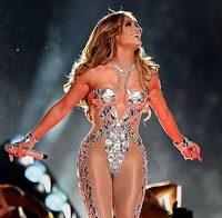 Jennifer Lopez e Shakira semi nuas no Super Bowl