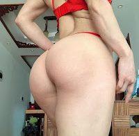 Bodybuilder Chinesa Yuan Herong nua