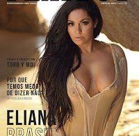 Eliana Brasil essencialmente nua na Playboy Portugal (Abril 2020)