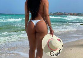Rabo de Graciele Lacerda encanta os seus fãs